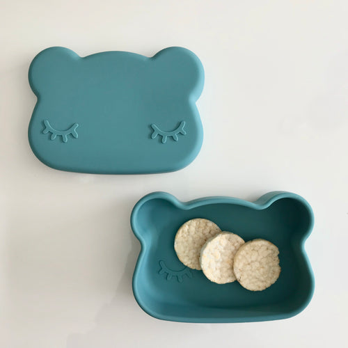 Bear Snackies: 2-in-1 Bowl and plate