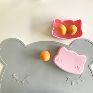 Cat Snackies: 2-in-1 Plate and Bowl