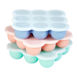 Wean Meister Silicone Freezer Pods for homemade baby food and baking