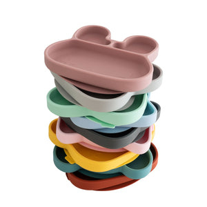 Stickie Plates (Divided sticky suction plates for highchairs and tables for babies toddlers and children)