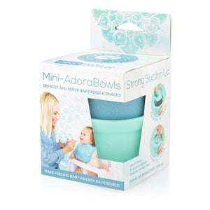 Mini Adora Bowls (microwave friendly baby and toddler snack bowls)