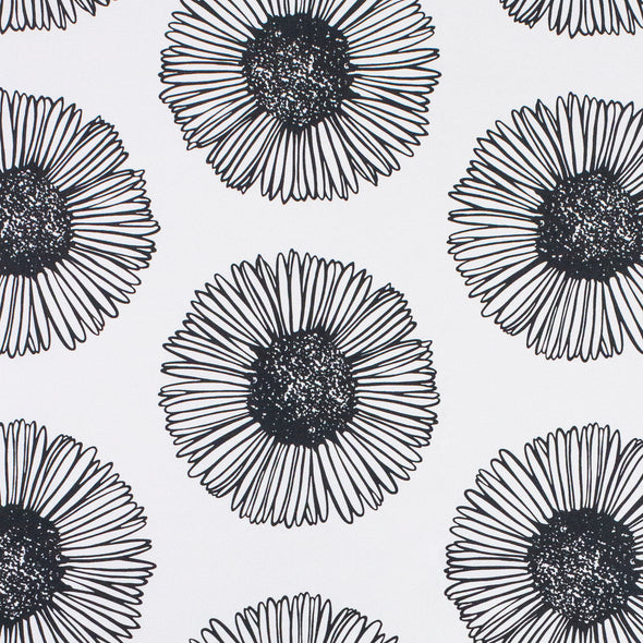 WALLPAPER MARGUERITE 02 ANTHRACITE