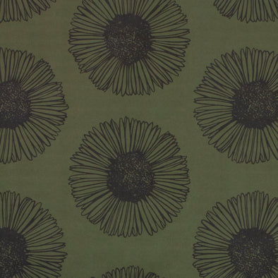 WALLPAPER MARGUERITE 03 OLIVE
