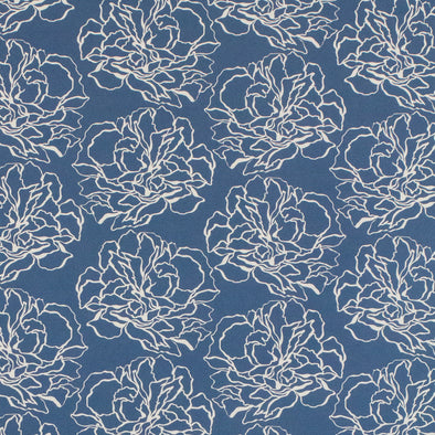 WALLPAPER PIVOINE 2  WEDGWOOD