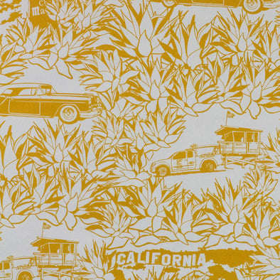 WALLPAPER CALIFORNIA SAFRAN