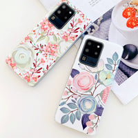 Laser Roses & Flowers Samsung Galaxy Case