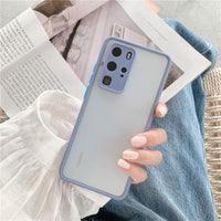 Colorful Anti-knock Transparent Huawei Case