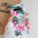 Flowers & Leaves Samsung Galaxy Case