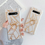 Golden Leaves Samsung Galaxy Case + Ring Holder