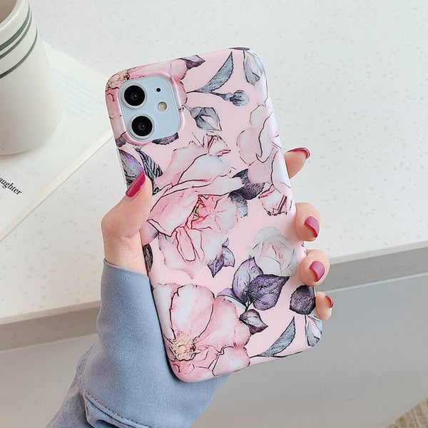 Flowers Pattern iPhone Case