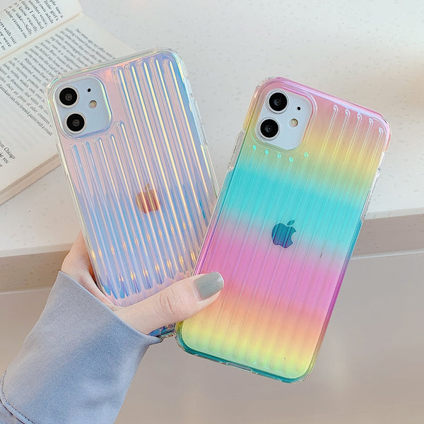 Rainbow Anti-knock iPhone Case