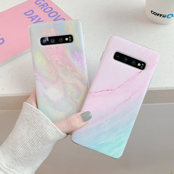 Colorful Marble Texture Samsung Galaxy Case