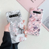 Flowers Pattern Samsung Galaxy Case