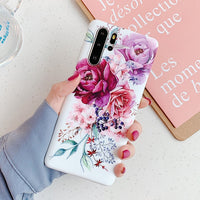 Pink & Purple Roses Samsung Galaxy Case