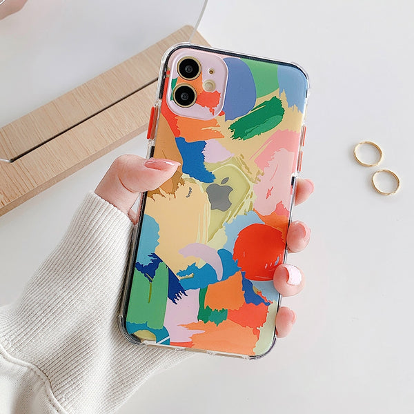 Colorful Anti-knock iPhone Case