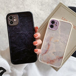 Marble Texture Anti-knock iPhone Case
