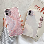 Pink Marble Anti-knock iPhone Case