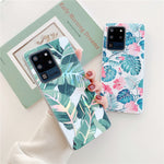 Laser Flowers & Leaves Samsung Galaxy Case