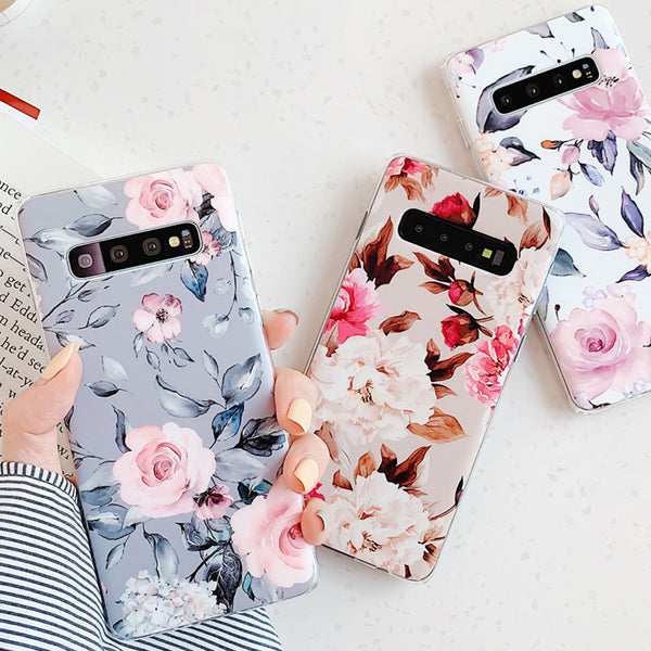 Roses & Flowers Samsung Galaxy Case