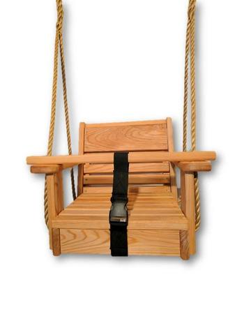 Wood Tree Swing for Kids & Toddlers