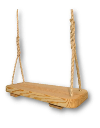 Hand Crafted Wooden Tree Swing