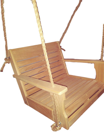 Image of rope chair swing 2