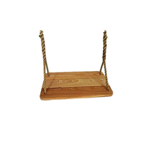 Deluxe Tree Swing Cypress Wood