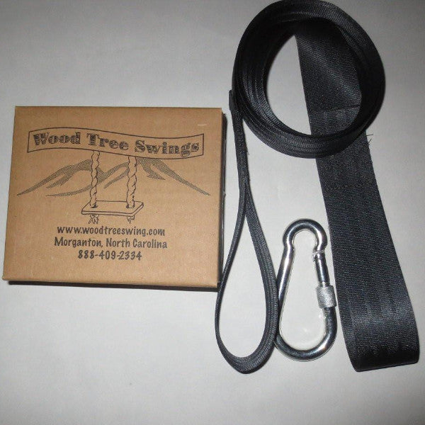 10' Long black swing hanging kit