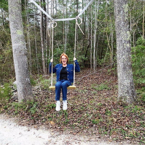 Tree Swing Hanging Kit - Between 2 Trees (Swing Not Included)