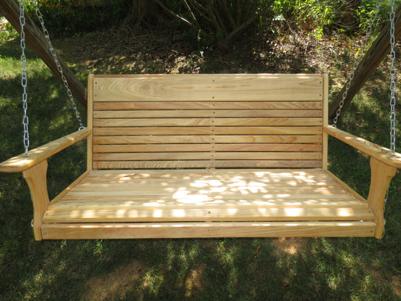 Wooden Porch Swing Package