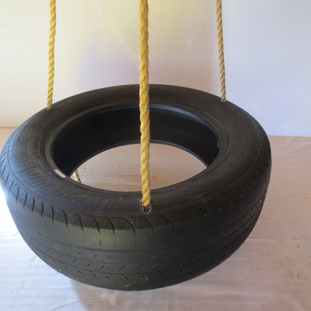 Deluxe Spinning 3 Rope Tire Swing