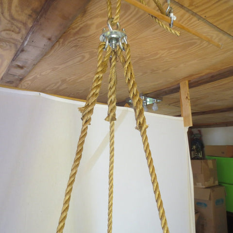 Image of Spinner Tire Swing Rope Tire Swing
