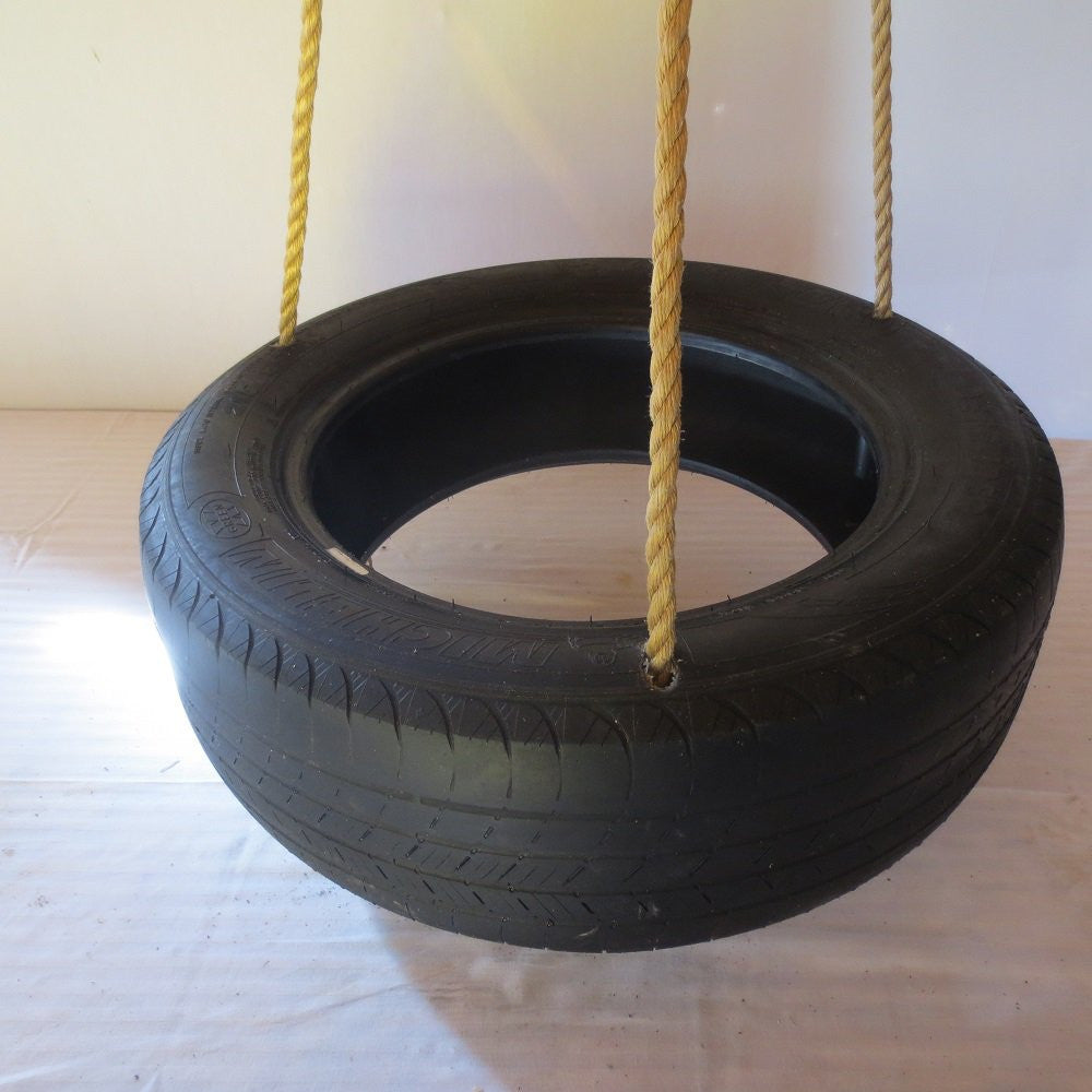 Spinner Tire Swing Rope Tire Swing