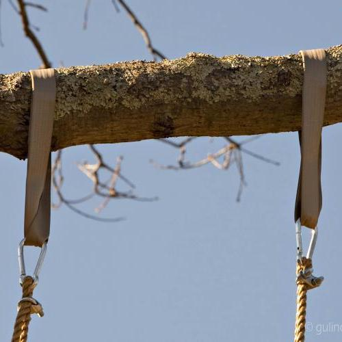 "36""Tree Swing Hanging Kit  with Safer Screw Lock Snap Hooks"