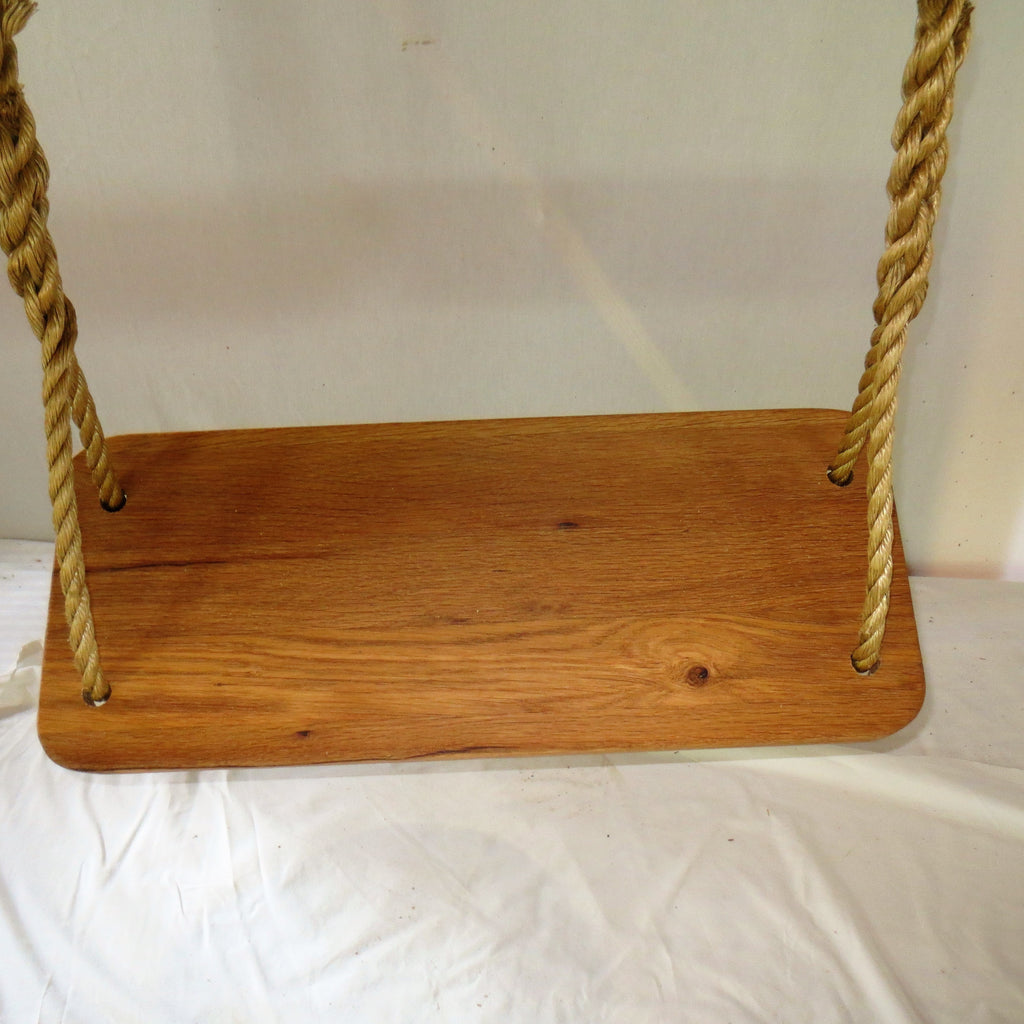 Classic Oak Wood Tree Swing/can Personalize Swing