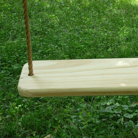 "Image of 24""Wood tree Swing"