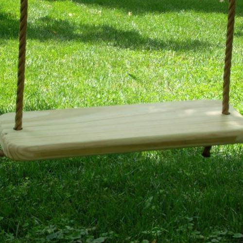 Deluxe Wood Tree Swing