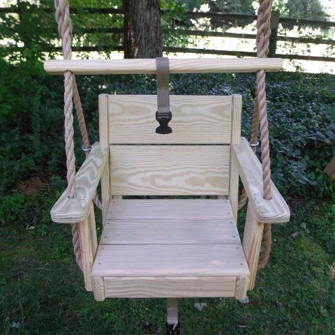 Image of Toddler Swing Cypress Wood