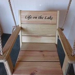 Image of engraved chair swing