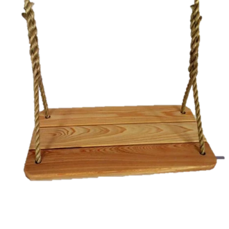 Image of Deluxe Tree Swing Cypress Wood