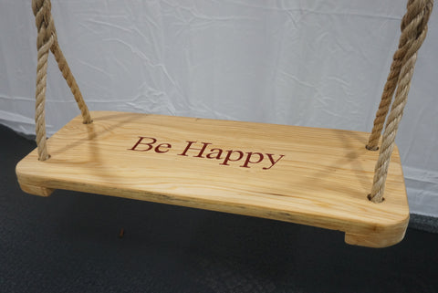Image of Custom Premier Wood Tree Swing