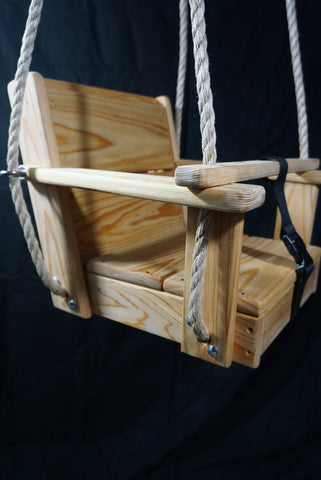 Image of Side view of Toddler Swing