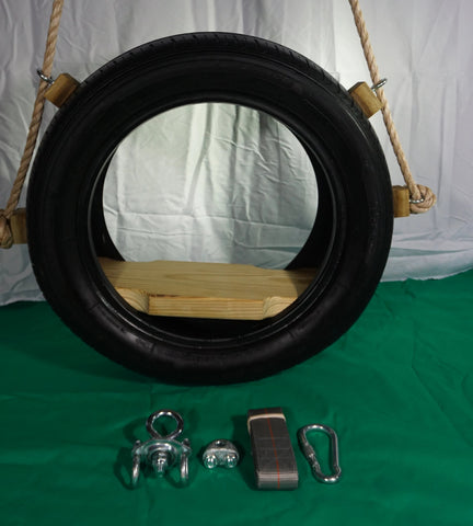 Image of Recycled, Old-Fashioned Tire Swing Package