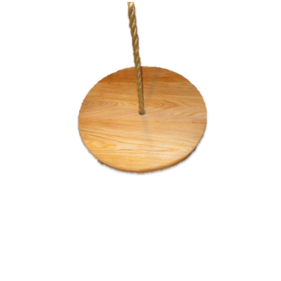 Disc Wood Tree Swing, Round Swing
