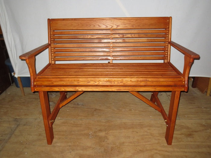 "Red Oak Bench 48""wide"