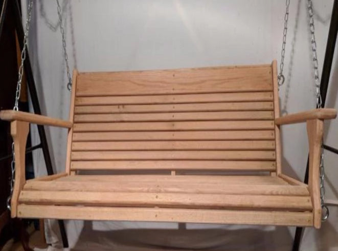 Cypress Larger Porch Swing