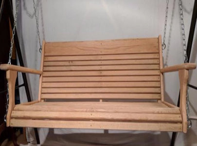 Porch Swing Cypress Wood 48""