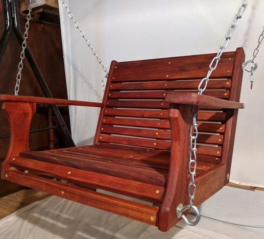 Chair Swing Mahogany 22'' x 19''