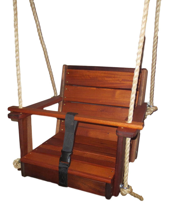 Mahogany Special Needs Swing