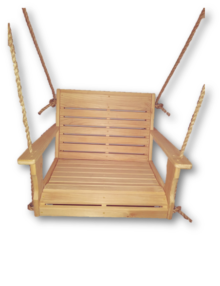Cypress Chair Swing/12' of Rope Per Side